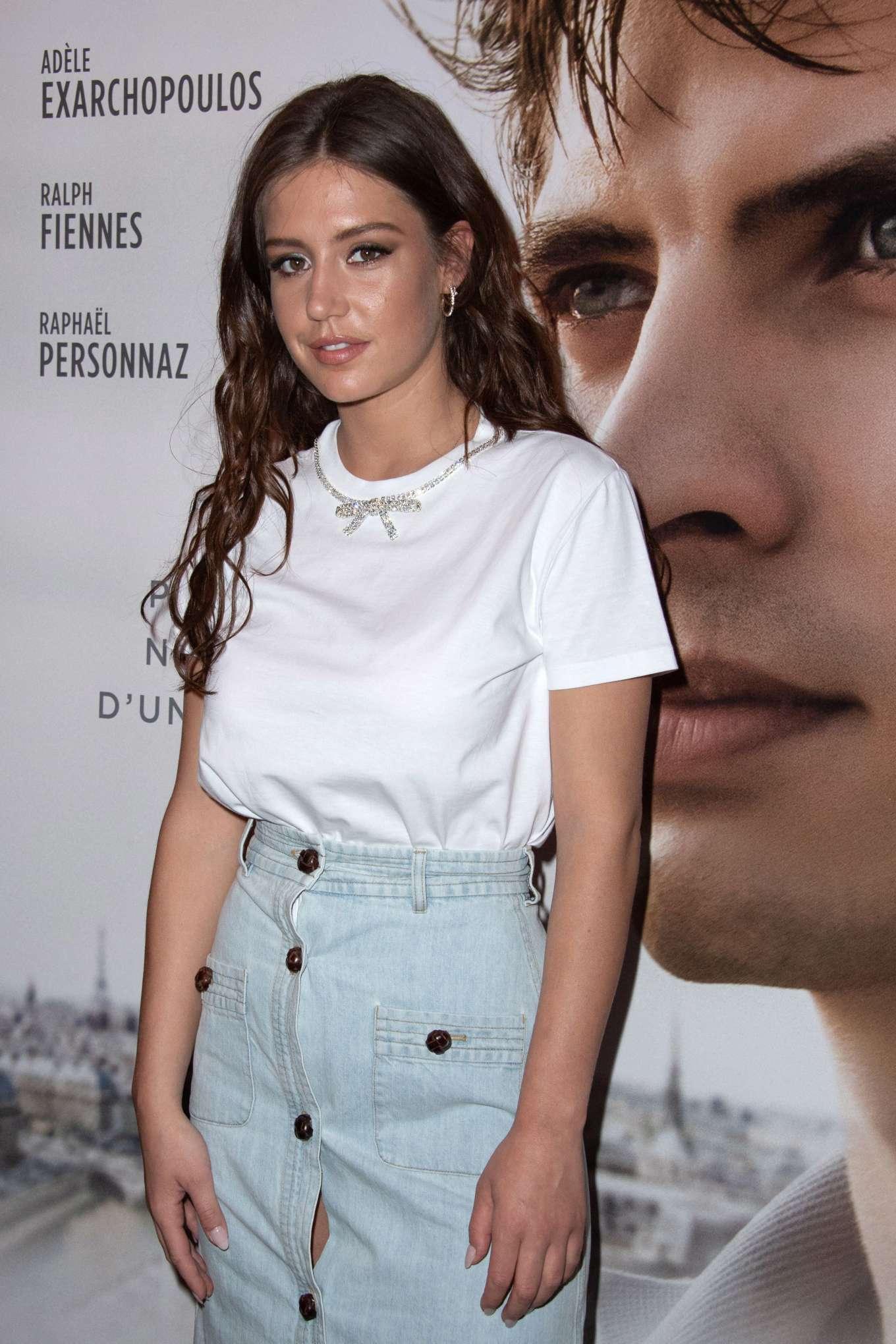 Adele Exarchopoulos - 'Noureev' Premiere at the Gaumont Capucines Cinema in Paris