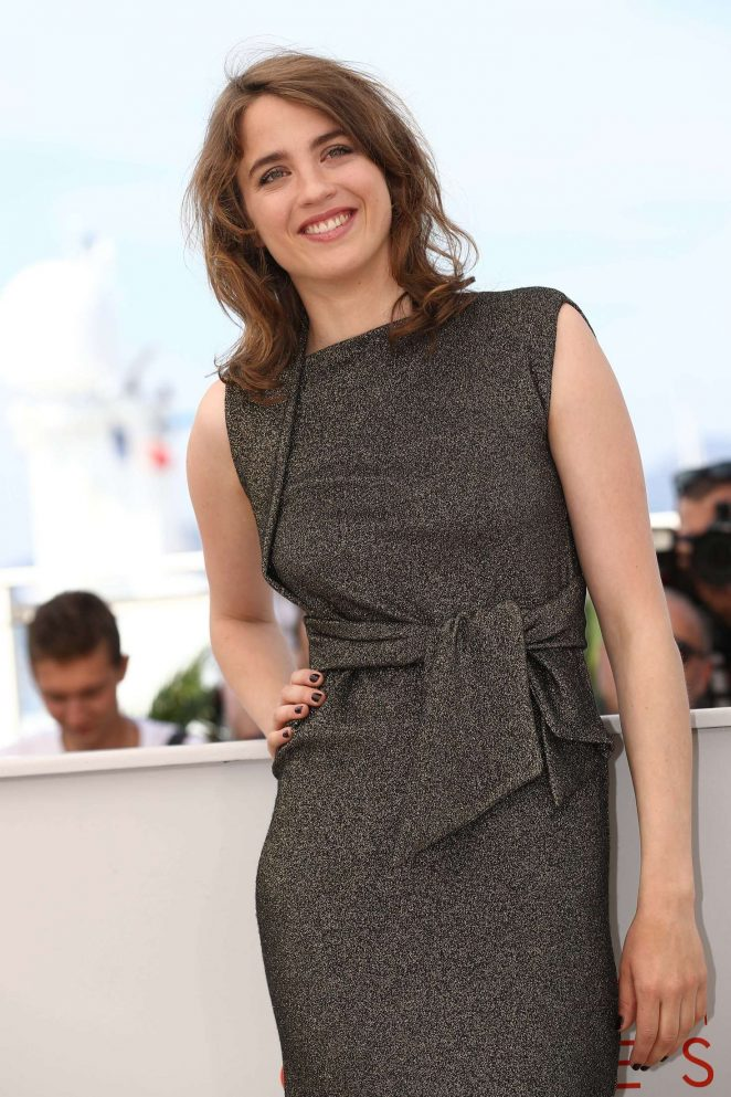 Adele Haenel - 'The Unknown Girl' Photocall at 2016 Cannes Film Festival