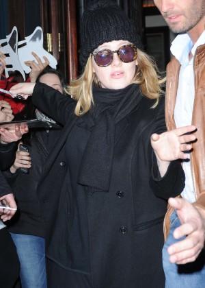 Adele - Leaving her hotel in Tribeca