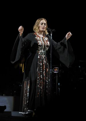 Adele - Performs at 2016 Glastonbury Festival in England