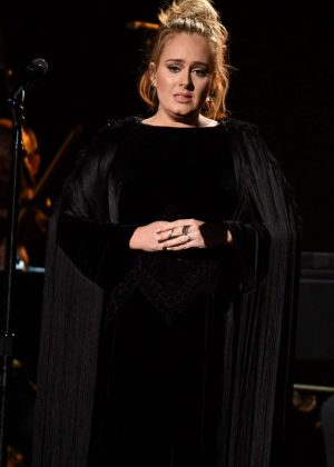 Adele - Performs at 59th GRAMMY Awards in Los Angeles