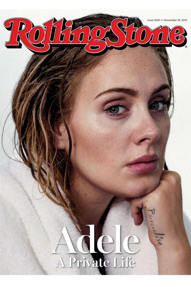 Adele - Rolling Stone Cover (November 2015)