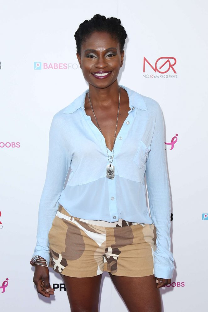 Adina Porter - Babes For Boobs Live Bachehelor Auction For Breast Cancer Research in LA
