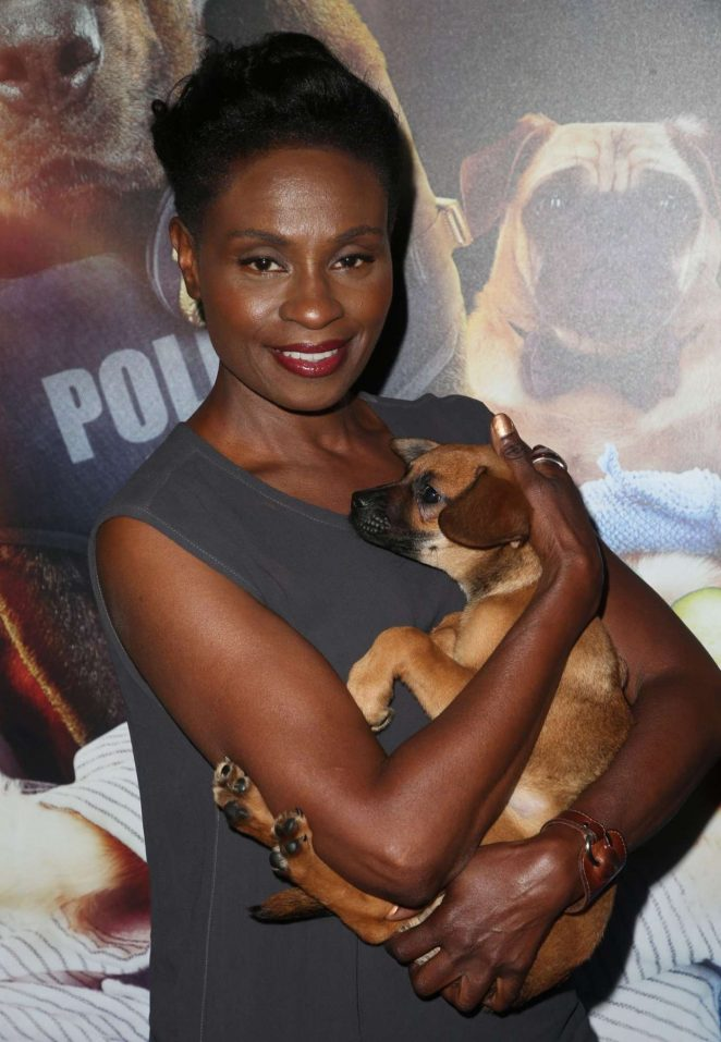 Adina Porter - 'Show Dogs' Premiere in New York
