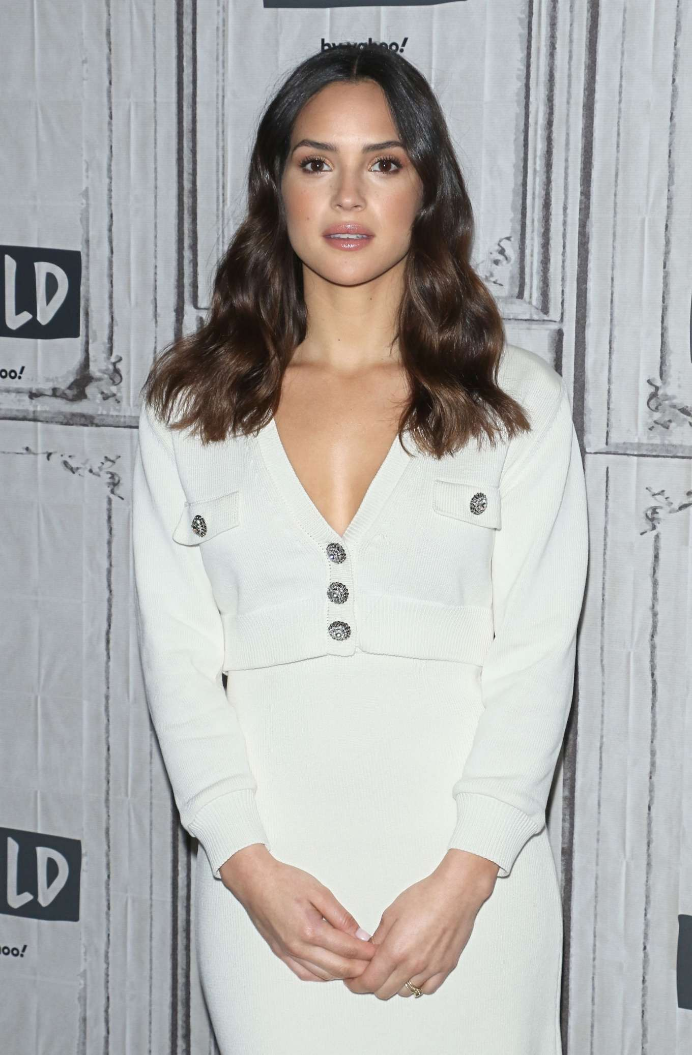Adria Arjona - Attends the Build Series to discuss '6 Underground' at Build Studio in NYC