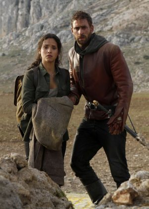Adria Arjona - 'Emerald City' stills