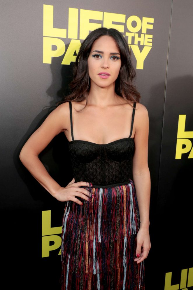 Adria Arjona - 'Life of the Party' Premiere in Auburn