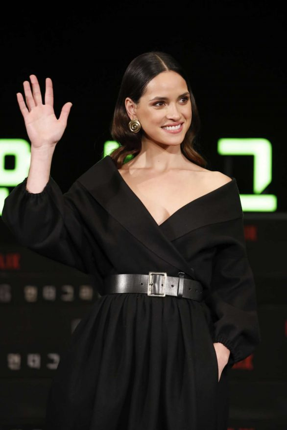 Adria Arjona - Netflix's '6 Underground' Press Conference in Seoul