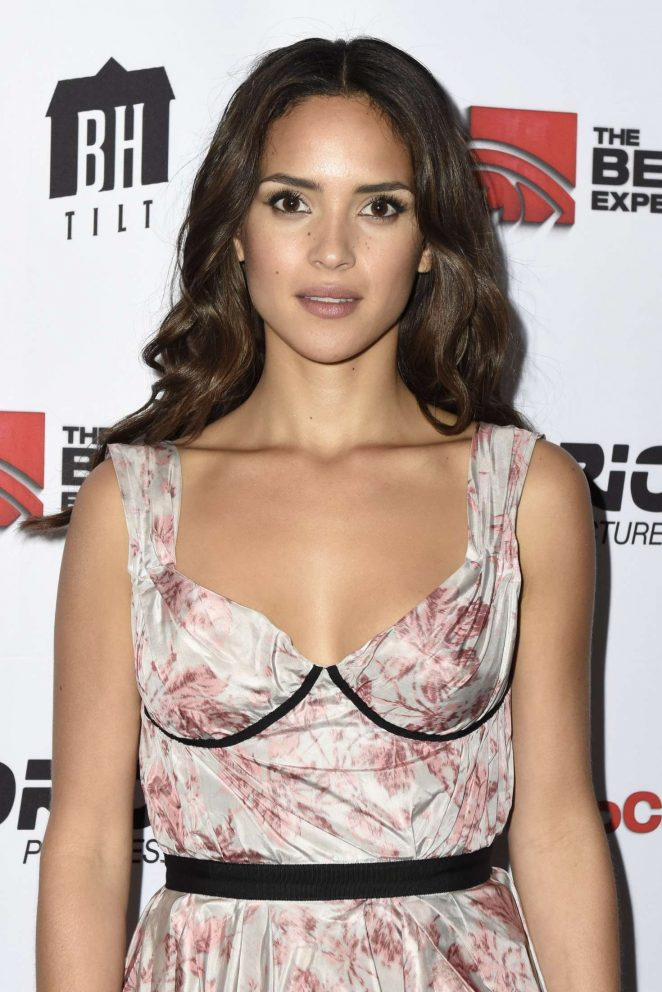 Adria Arjona - 'The Belko Experiment' Screening in Santa Monica