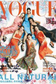 Adriana, Candice, Doutzen, Edita, Joan and Sui - Vogue Japan (March 2020)