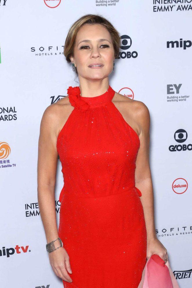 Adriana Esteves - 45th International Emmy Awards in New York City