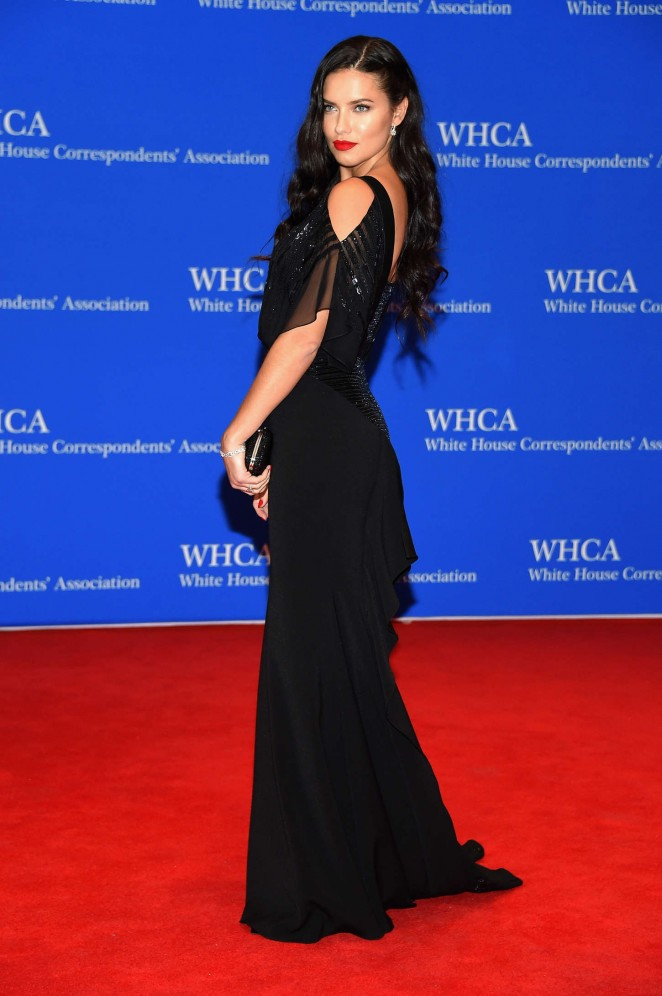 Adriana Lima - 2015 White House Correspondents' Association Dinner in Washington