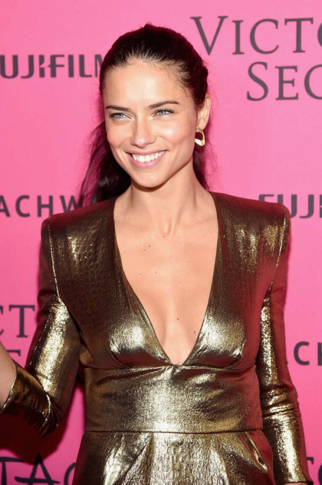 Adriana Lima - 2015 Victoria's Secret Fashion Show After Party in NYC