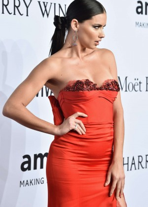 Adriana Lima - 2016 amfAR New York Gala in NYC