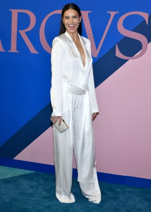 Adriana Lima - 2017 CFDA Fashion Awards in New York
