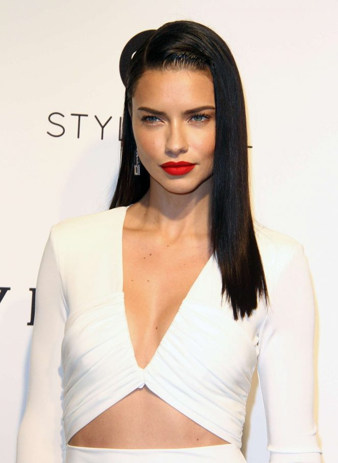 Adriana Lima - 2017 Elton John AIDS Foundation's Oscar Viewing Party in West Hollywood