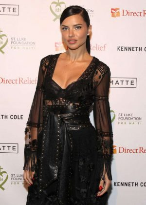 Adriana Lima - 2017 St. Luke Foundation for Haiti Benefit in New York