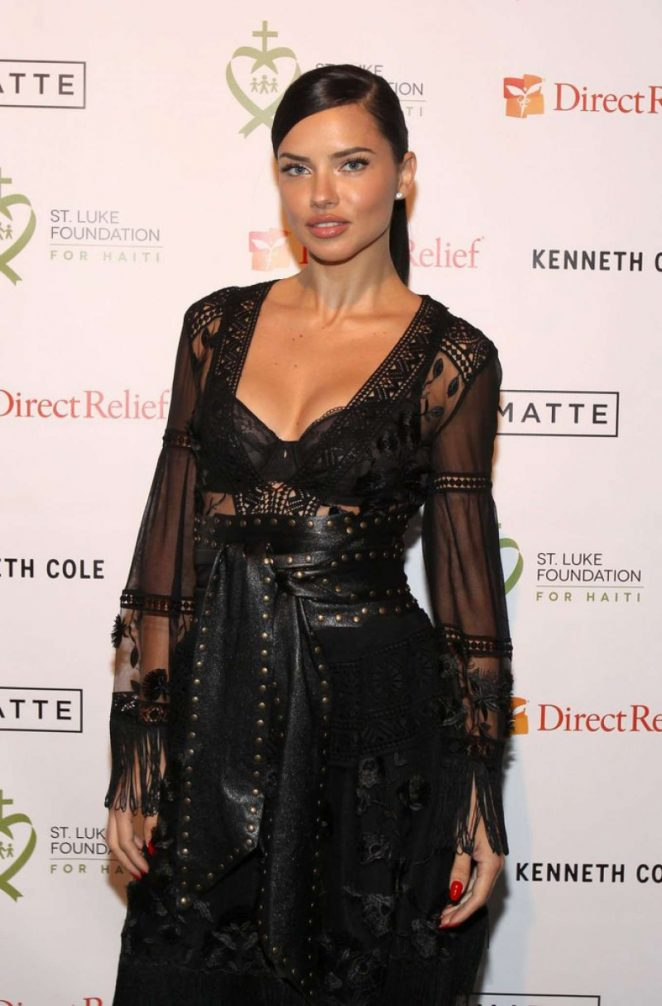 Adriana Lima – 2017 St. Luke Foundation for Haiti Benefit in New York