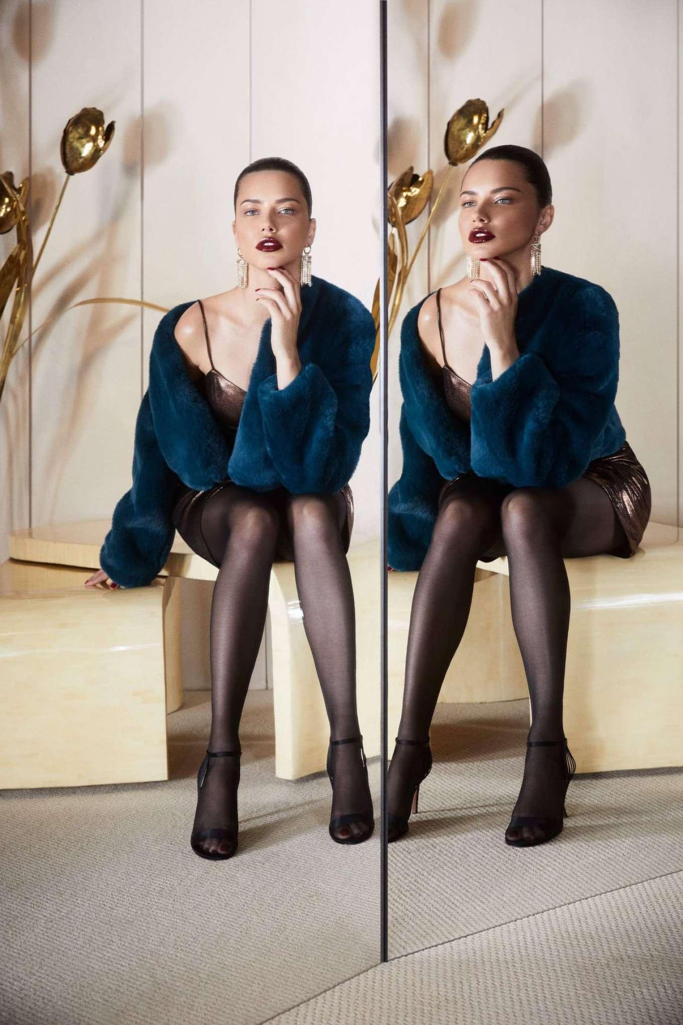 Adriana Lima 2019 : Adriana Lima – 2019 BCBG Max Azria Campaign-03