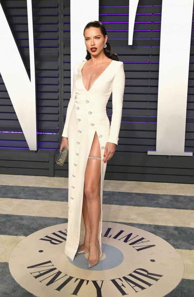 Adriana Lima - 2019 Vanity Fair Oscar Party in Beverly Hills