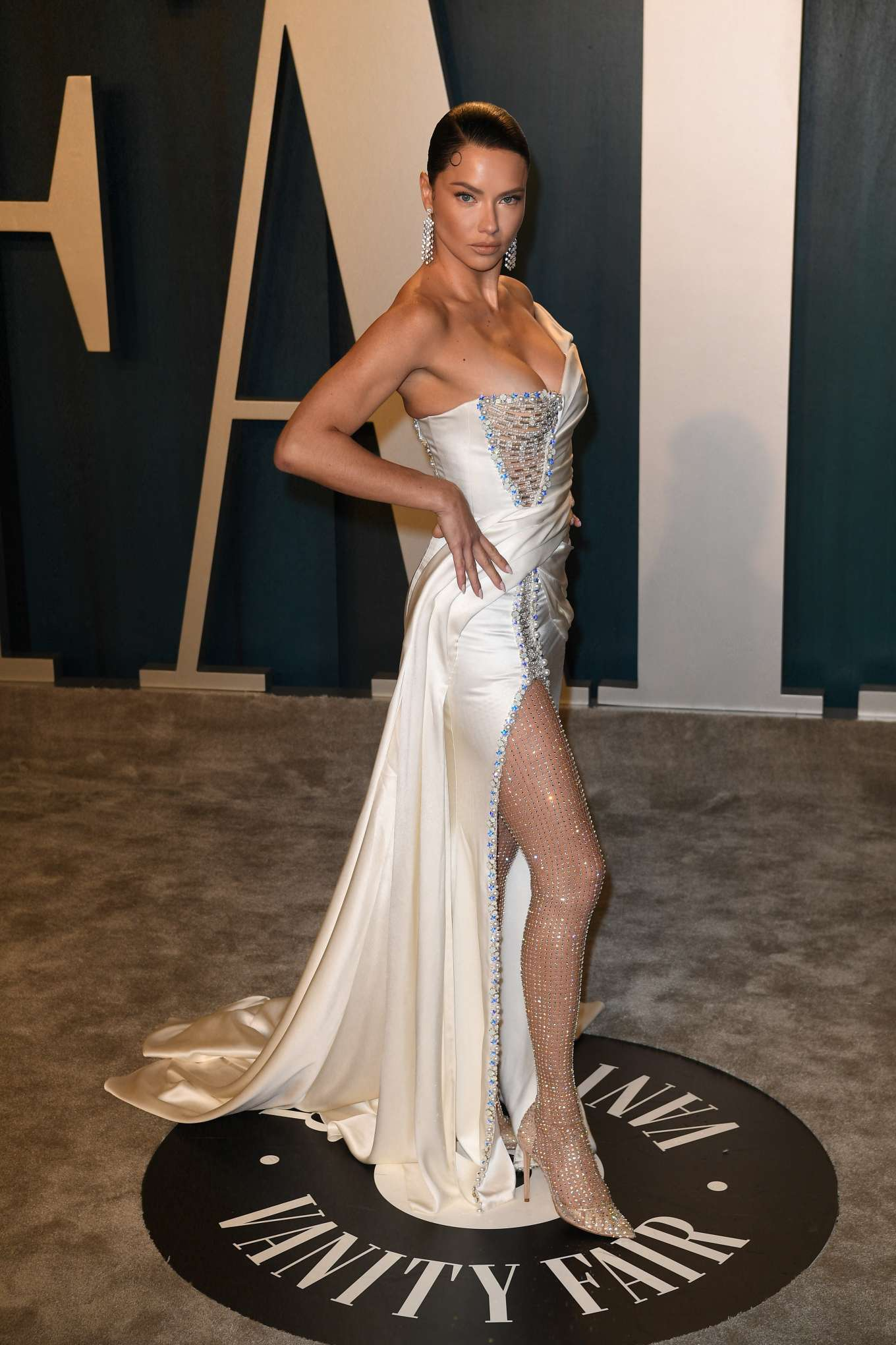 Adriana Lima - 2020 Vanity Fair Oscar Party in Beverly Hills adds