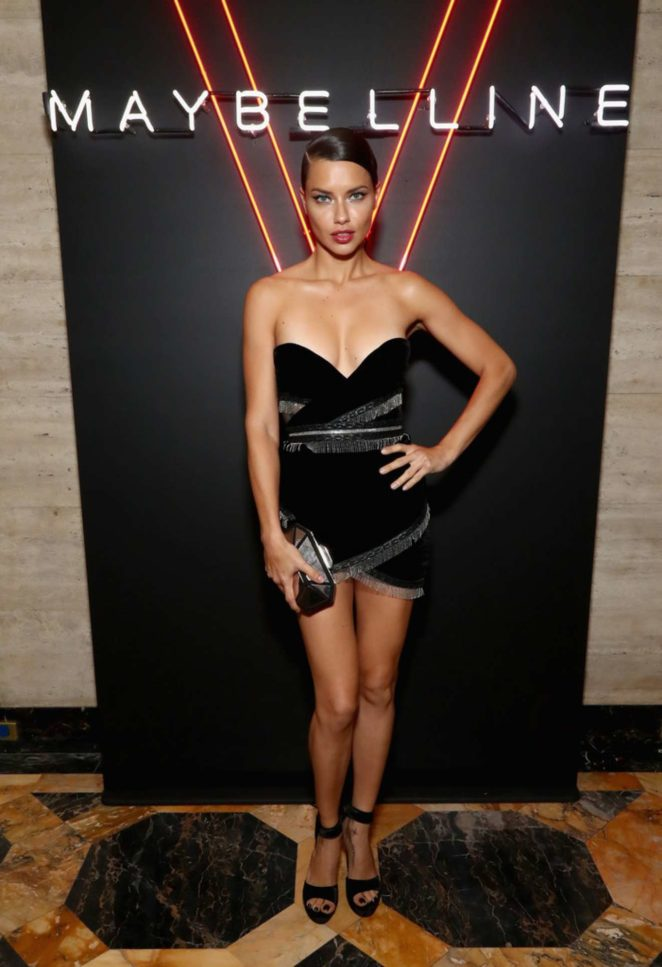 Adriana Lima - An Evening at the Maybelline Mansion Presented by V in NYC