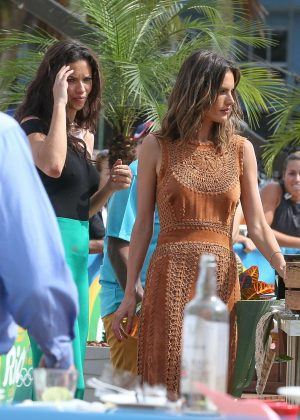 Adriana Lima and Alessandra Ambrosio - Filming the 'Today Show' in Rio de Janeiro