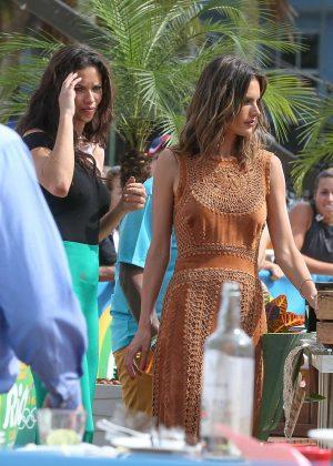 Adriana Lima and Alessandra Ambrosio - Filming the 'Today Show' in Rio de Janeiro