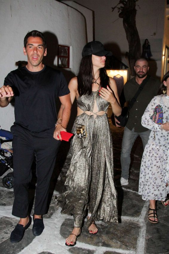 Adriana Lima 2019 : Adriana Lima and Emir Uyar – Night out in Mykonos-04
