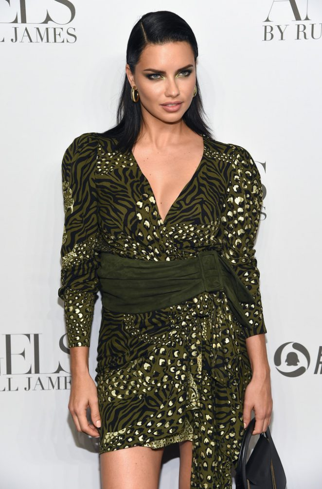 Adriana Lima - 'ANGELS' by Russell James Book Launch and Exhibit in NY