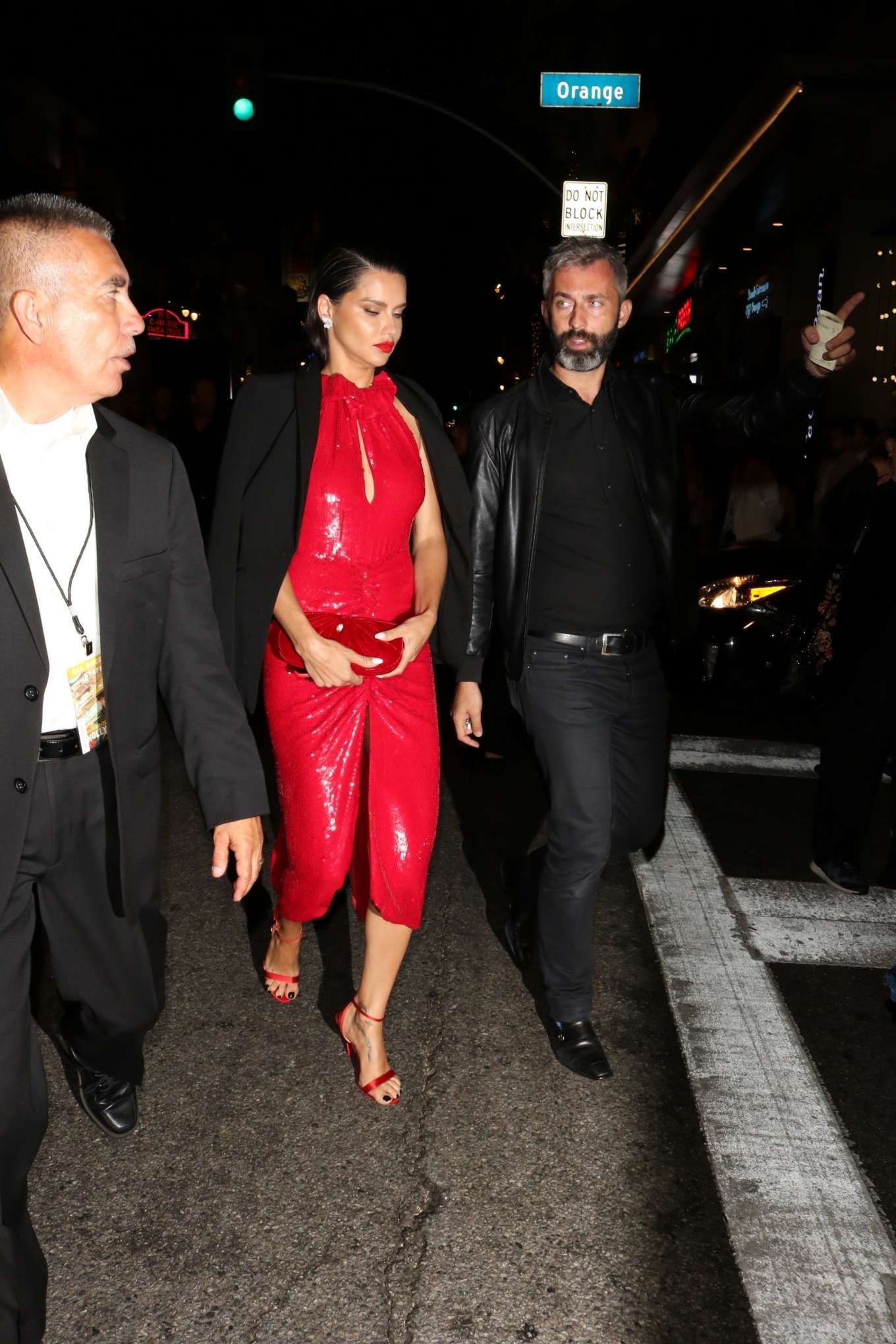 Adriana Lima - Arrives at 'Once Upon A Time in Hollywood' Premiere in Hollywood