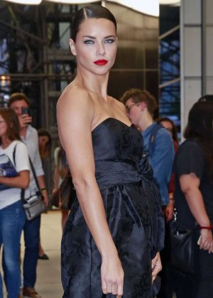 Adriana Lima - Arriving at The Daily Front Row's 4th Annual Fashion Media Awards in NY