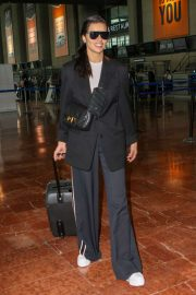 Adriana Lima at Nice Airport in France