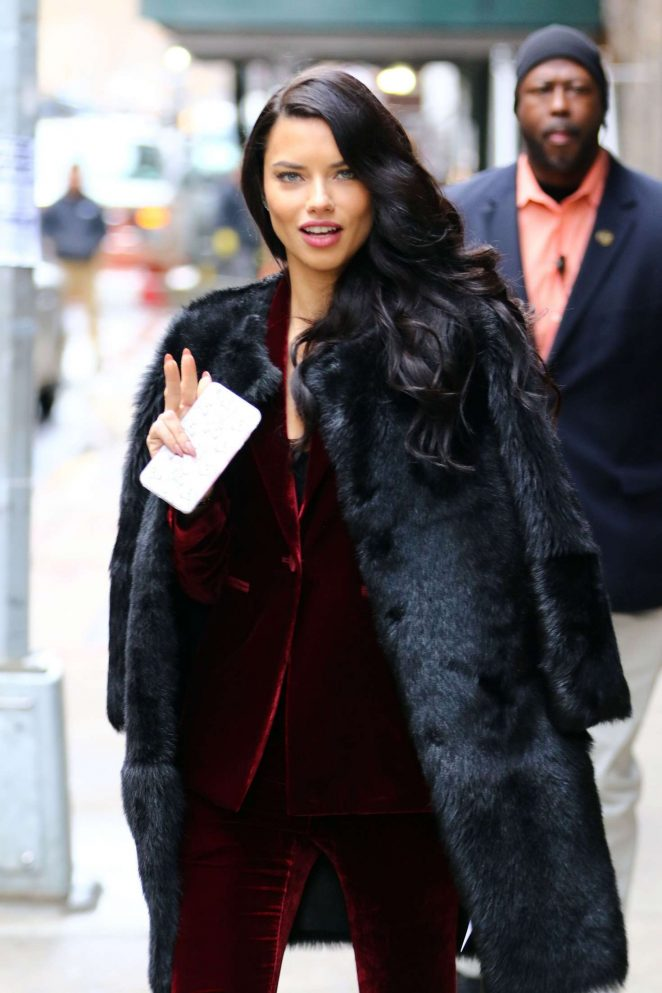 Adriana Lima at 'The Wendy Williams Show' in New York