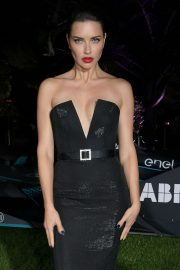 Adriana Lima - Attends a Private Dinner hosted by Alejandro Agag in Cannes