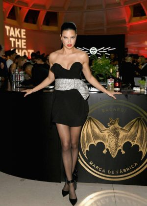 Adriana Lima - BACARDI x The Dean Collection Present No Commission in Miami