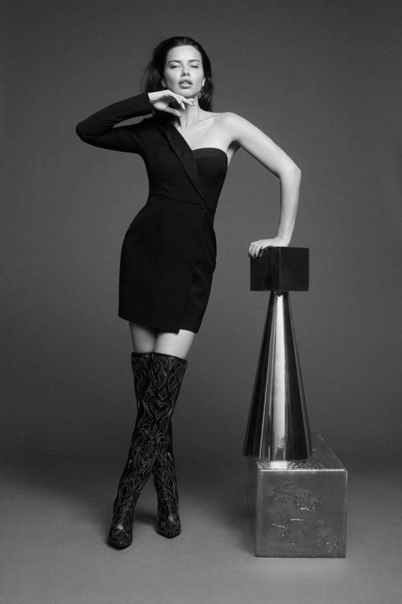 Adriana Lima - BCBGMAXAZRIA Fall/Winter 2019 Campaign