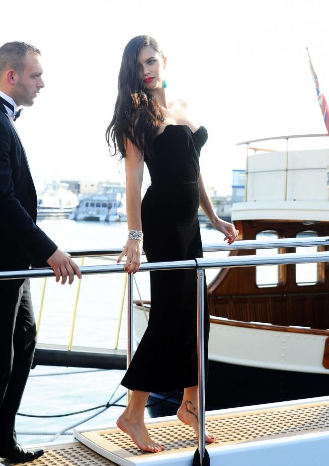 Adriana Lima in Tight Dress -01