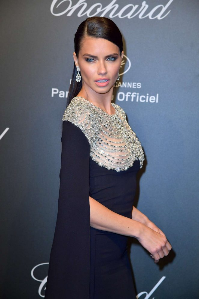 Adriana Lima - Chopard Dinner at 70th Cannes Film Festival in France adds
