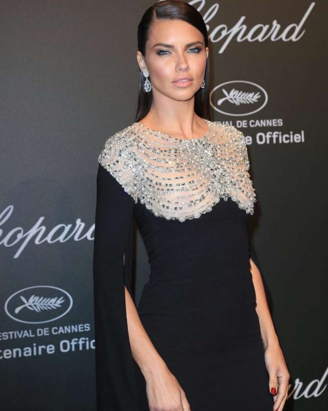 Adriana Lima - Chopard Dinner at 70th Cannes Film Festival in France