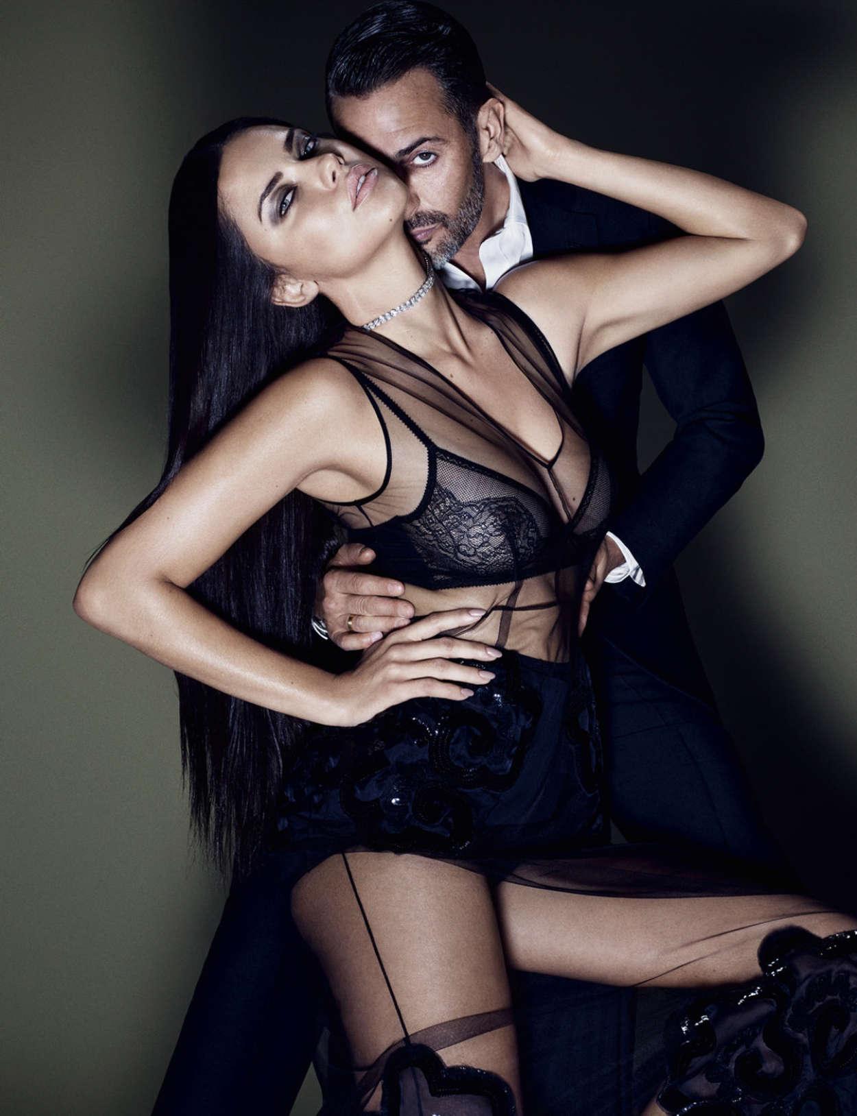 Adriana Lima - ELLE US Magazine (October 2015)