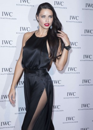 Adriana Lima - Gala Dinner Photocall as Part of SIHH in Geneva