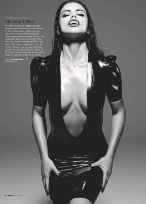 Adriana Lima - GQ UK Magazine (March 2016)