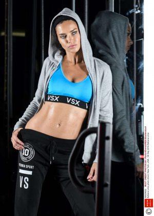 Adriana Lima - Gym Session Photoshoot in New York