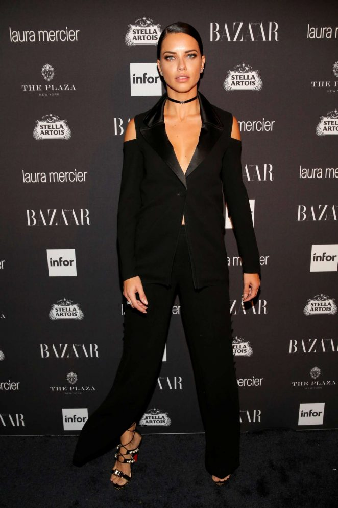 Adriana Lima - Harpers Bazaar Icons Party 2016 in NYC