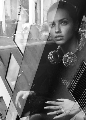 Adriana Lima - Interview Magazine (September 2015)