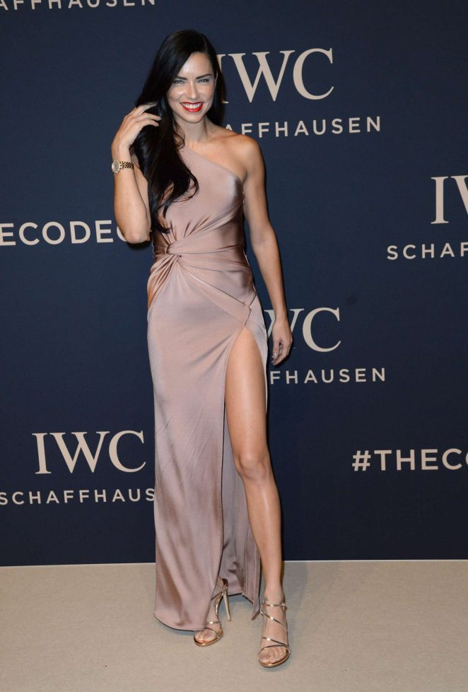 Adriana Lima - IWC Gala Decoding the Beauty of Time at SIHH 2017 in Geneva