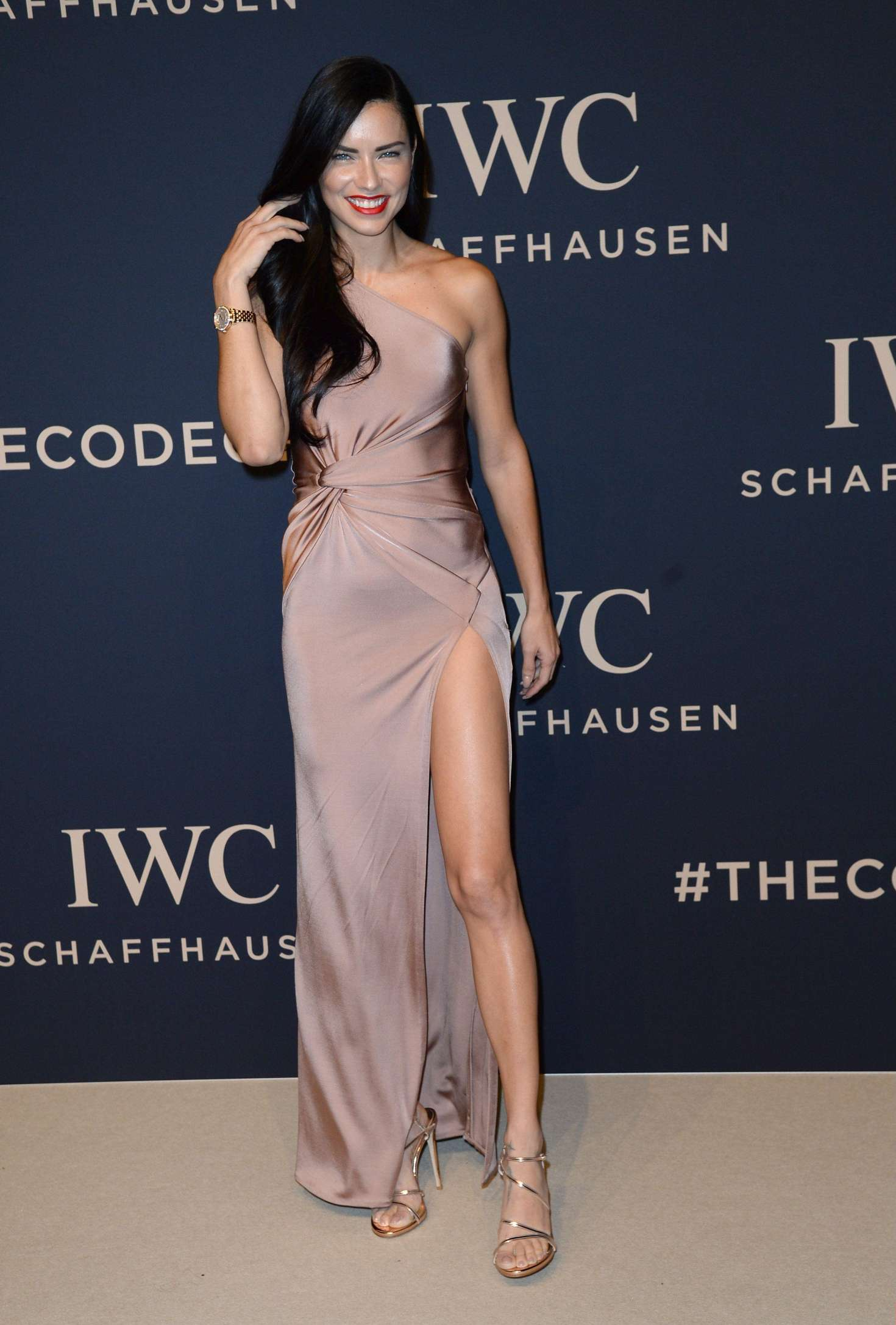 Adriana Lima Iwc Gala Decoding The Beauty Of Time At