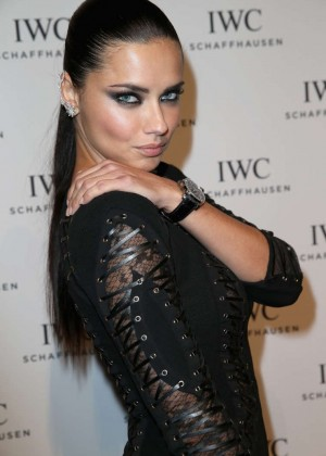Adriana Lima - IWC Gala Dinner in Geneva