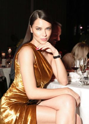 Adriana Lima - IWC Schaffhausen 5th Annual For the Love of Cinema Gala in NY